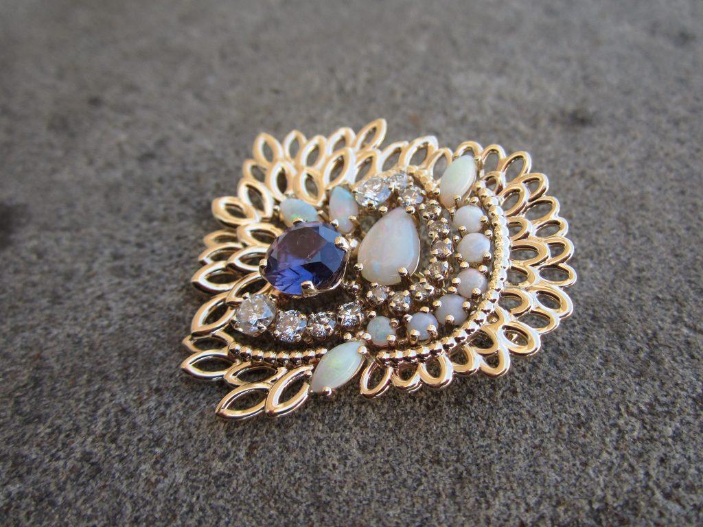 Custom Piece from Heirloom Jewelry